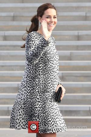 Duchess of Cambridge - Catherine Duchess of Cambridge visits Turner Contemporary Gallery - London, United Kingdom - Wednesday 11th March...