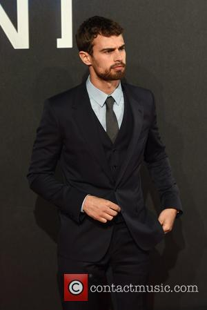 Theo James - Shots of a host of stars as they arrived for the world premiere of 'Insurgent' which was...