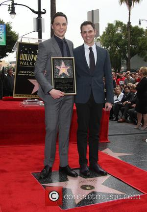 Jim Parsons and Todd Spiewak - Star of the comedy show 'The Big Bang Theory' Jim Parsons, who plays Sheldon...