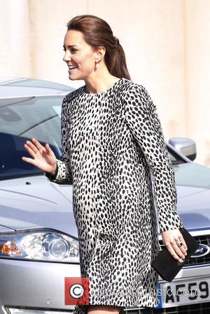 Duchess of Cambridge - Shots of Kate Middleton otherwise known as Catherine Duchess of Cambridge as she visited the Turner...