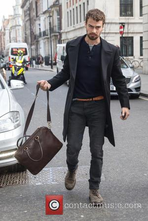 Theo James - Celebrities at BBC Radio 1 at BBC Portland Place - London, United Kingdom - Wednesday 11th March...