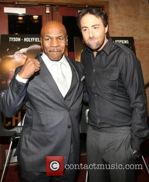 Mike Tyson and Bert Marcus