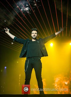 Ben Haenow - The X Factor Live Tour 2015 at The SSE Arena Wembley - Performance at The SSE Arena...