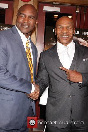 Evander Holyfield and Mike Tyson