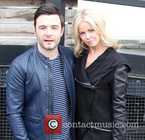 Shane Filan and Gillian Walsh Filan - Shane Filan and his wife Gillian Walsh Filan outside the ITV Studios -...