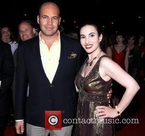 Billy Zane and Vida Ghaffari - AHFW Fall/Winter 2015 in Hollywood - Celebrity Sightings - Hollywood, California, United States -...