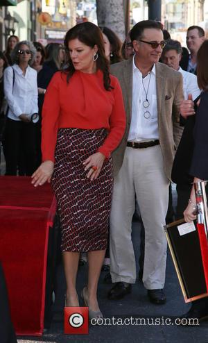 Marcia Gay Harden and Andy Garcia