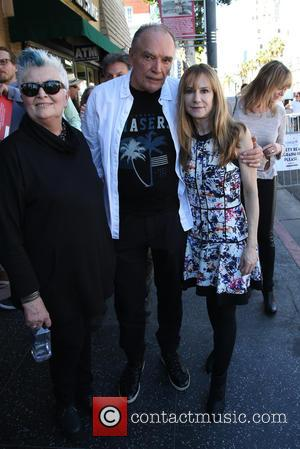 Holly Hunter and Guests - The ceremony honoring Ed Harris with a Star on The Hollywood Walk of Fame at...