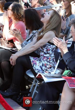 Holly Hunter - The ceremony honoring Ed Harris with a Star on The Hollywood Walk of Fame at HOLLYWOOD WALK...