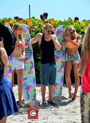 Gigi Hadid, Cody Simpson and Rachel Hilbert - Victoria Secret PINK Nation hosts The Ultimate Spring Break Bash at Kimpton...