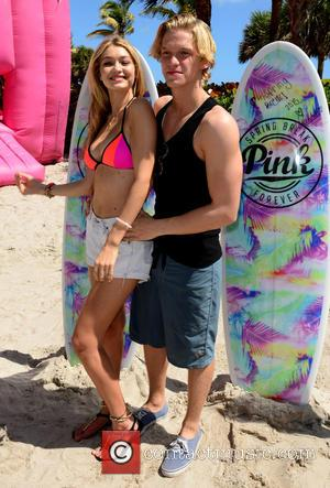 Gigi Hadid and Cody Simpson - Victoria Secret PINK Nation hosts The Ultimate Spring Break Bash at Kimpton Surfcomber Hotel,...