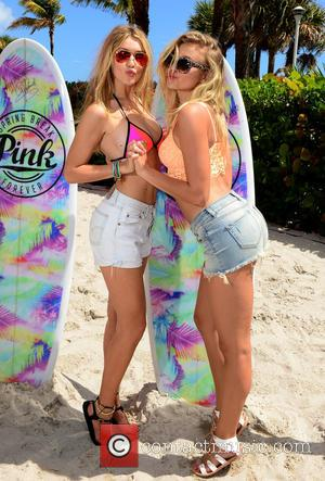 Gigi Hadid and Rachel Hilbert - Victoria Secret PINK Nation hosts The Ultimate Spring Break Bash at Kimpton Surfcomber Hotel,...