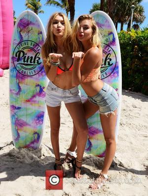 Gigi Hadid and Rachel Hilbert - Victoria Secret PINK Nation hosts The Ultimate Spring Break Bash at Kimpton Surfcomber Hotel,...