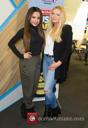 Becky G and Alli Simpson - Radio Disney's Alli Simpson and Ernie D host a concert as part of Radio...