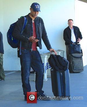 Rick Fox - Rick Fox at Los Angeles International Airport (LAX) at LAX - Los Angeles, California, United States -...