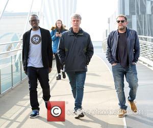 Shaun Ryder, Mark Berry(bez) and Paul Leveridge