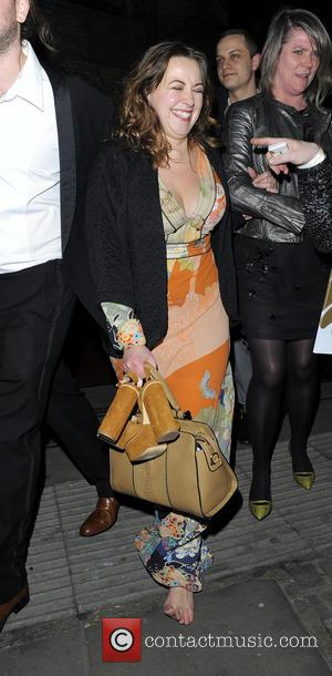 Charlotte Church - The Roundhouse Gala held at The Roundhouse - Departures at The Roundhouse - London, United Kingdom -...