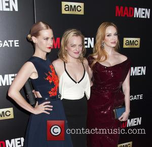 January Jones, Elisabeth Moss and Christina Hendricks