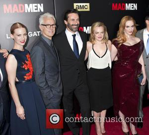 January Jones, John Slattery, Jon Hamm, Elisabeth Moss and Christina Hendricks