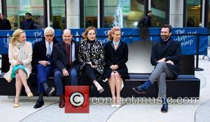 John Hamm, Elisabeth Moss, John Slattery, Christina Hendricks, January Jones and Matthew Weiner