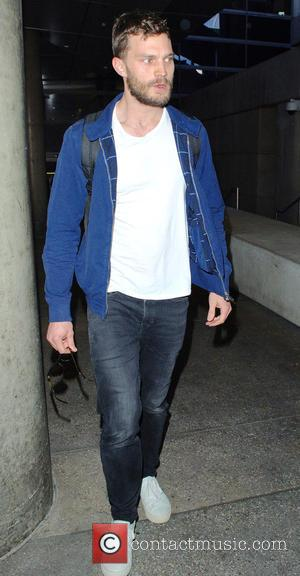 Jamie Dornan - '50 Shades of Grey' star Jamie Dornan arrives at  Los Angeles International Airport (LAX) at LAX...