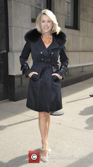 Deborah Norville - Deborah Norville leaving 'The Wendy Williams Show' - Manhattan, New York, United States - Wednesday 25th March...