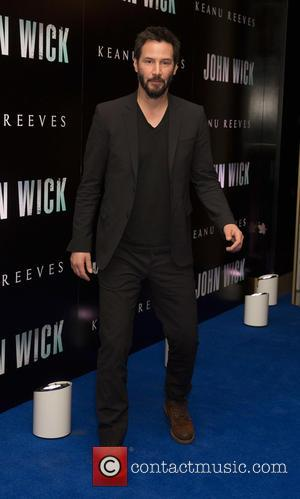 American actor and star of the film 'John Wick' Keanu Reeves was snapped as he attended a photocall for the...