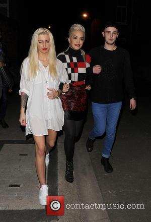 Karis Thomas, Rita Ora and Joe Woolford