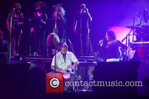 Andy Garcia and Gloria Estefan