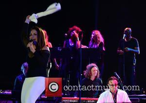 Gloria Estefan and Andy Garcia