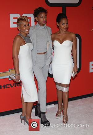 Adrienne Banfield-jones, Willow Smith and Jada Pinkett Smith