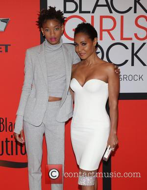 Willow Smith and Jada Pinkett Smith - A variety of stars were photographed as they arrived to the 'Black Girls...