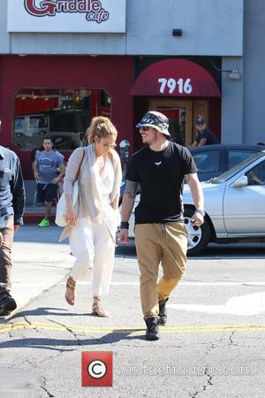 Jennifer Lopez and Casper Smart - Shots of the on-off couple Jennifer Lopez and Casper Smart as they were out...