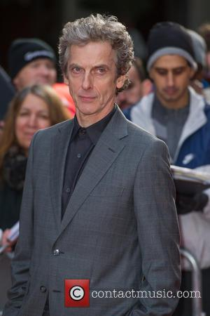 Peter Capaldi Himself Attending 'Doctor Who' Festival in London