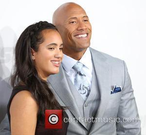 Simone Alexandra Johnson and Dwayne Johnson