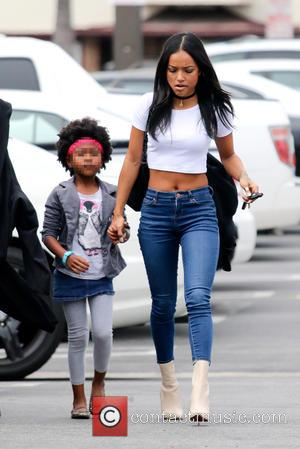 Karrueche Tran - Chris Brown's ex-girlfriend, Karrueche Tran, spotted out shopping with her younger siblings - Los Angeles, California, United...