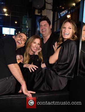 Heather Thomson - 'Real Housewives of New York City' season 7 series viewing party at AOA Bar & Grill at...