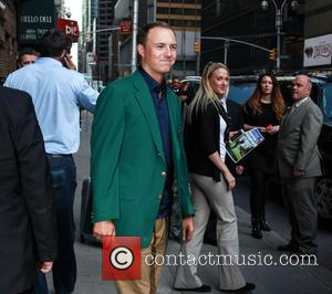 Jordan Spieth - Celebrities attend the 'Late Show with David Letterman' in NewYork City - New York, New York, United...