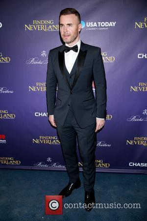 Gary Barlow - Finding Neverland Opening Arrivals