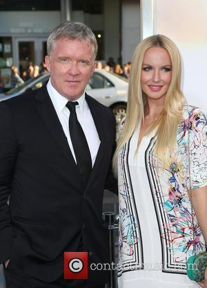 Anthony Michael Hall and Lucia Oskerova