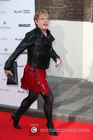 Eddie Izzard - Red Carpet arrivals for Gala Celebration In Honour Of Kevin Spacey at the Old Vic, London at...