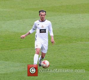 Louis Tomlinson - Louis Tomlinson captains Team Tomlinson against Team Coppinger for a testimonial game for Doncaster Rovers' player James...
