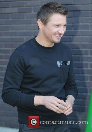 Jeremy Renner - Jeremy Renner outside ITV Studios - London, United Kingdom - Tuesday 21st April 2015