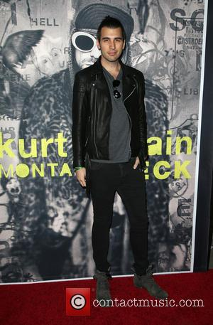 Kurt Cobain and Nick Simmons