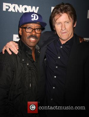 Courtney B.vance and Denis Leary