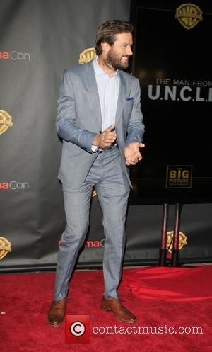 Armie Hammer - Shots of a host of stars as they arrived for the 2015 CinemaCon which was held at...