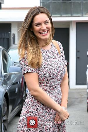 Kelly Brook - Kelly Brook and her friend Natalie Loren spotted leaving Mêche salon together at Beverly Hills - Los...