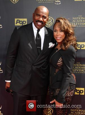 Steve Harvey and Marjorie Bridges