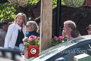 Jeremy Clarkson and Penny Smith