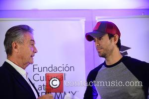 Manolo Diaz and Enrique Iglesias
